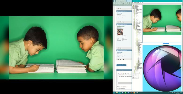 Click image for larger version.  Name:Dual Monitor View.jpg Views:10 Size:37.7 KB ID:5778
